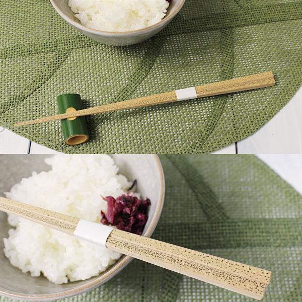 キッチン和雑貨(竹箸)ゴマ竹箸:説明2