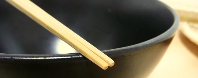 安さが一番のかすり竹箸(紺):説明3