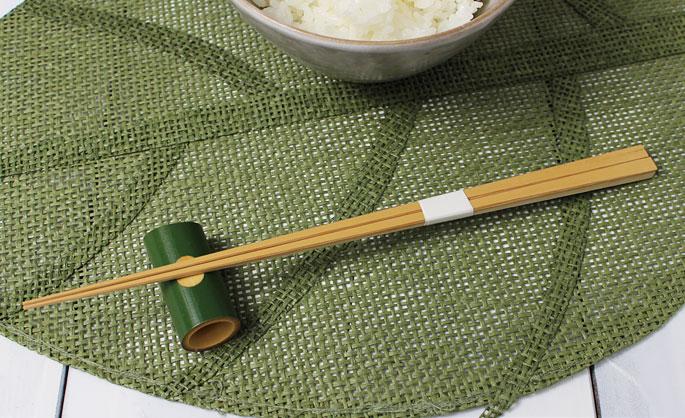 【竹の箸をプレゼントや贈り物に/京都から販売】白竹極細箸/長め24cm/高級箸/先が極細なので注意【返品不可】:説明1