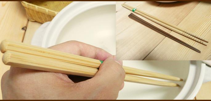 スス竹六角菜箸:説明3