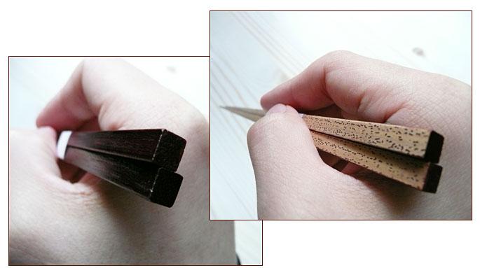和の極み竹箸 ゴマうるし竹箸:説明3
