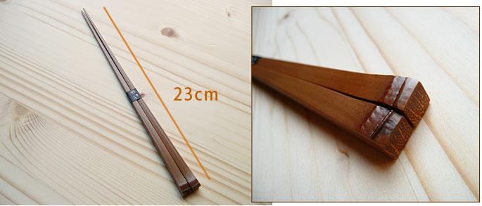 スス竹極細竹箸(節付) 3点セット 説明2