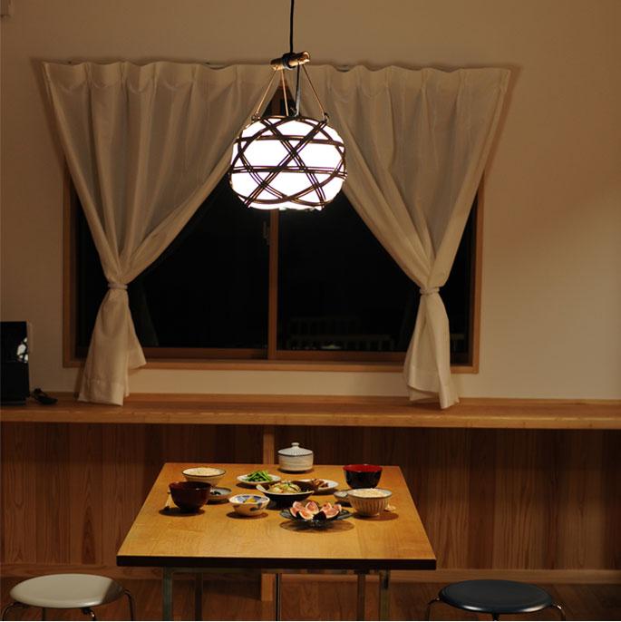 お料理も素敵なショールームのようなお写真