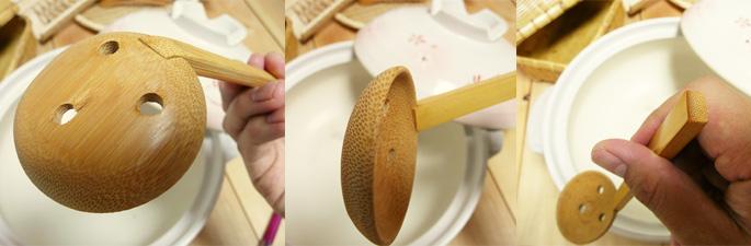 おかゆスプーン/竹のカトラリー:説明2