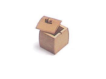 【七味入れ(竹製)】胡麻竹の薬味入れ(七味入れ)【テーブルウェア/店舗備品】/61C-5814:説明1