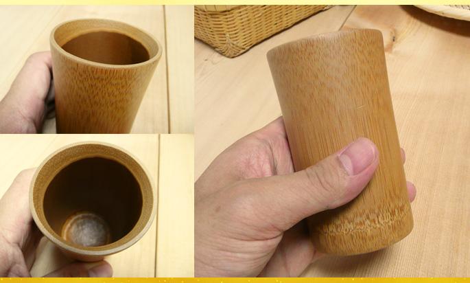 スス竹一口ビアマグ(冷たい飲み物専用):販売説明2