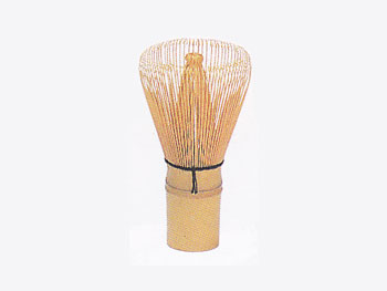 【和雑貨調理器具(竹製)】茶筅(100本立茶せん 直径6cm高さ11cm)抹茶 茶道具/59A-3971:説明1