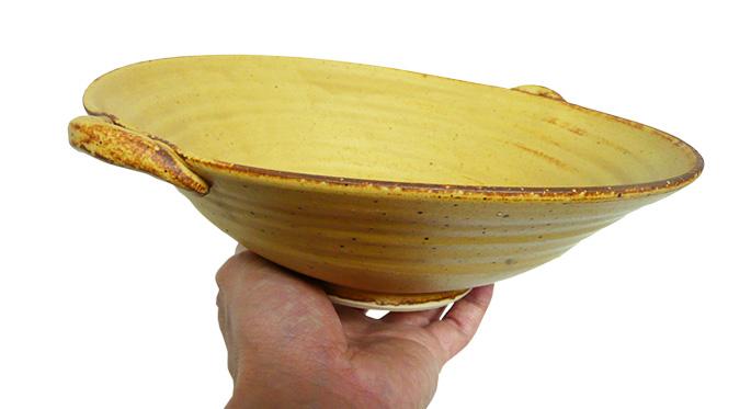 和食器/大鉢 大鉢 北山・土鍋風手付き(稲穂)/業務用飲食店の食器、ボウル 通販