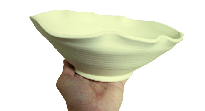 和食器/大鉢 さざ波・白/飲食店の皿 通販