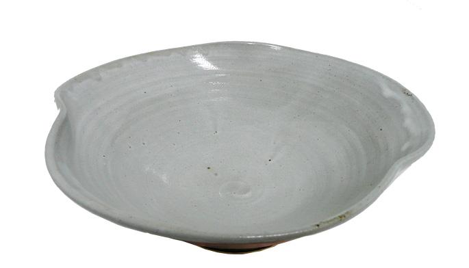 和食器/大鉢/ボウル 大鉢 三条盛り皿・(灰色)/業務用飲食店の食器、ボウル 通販