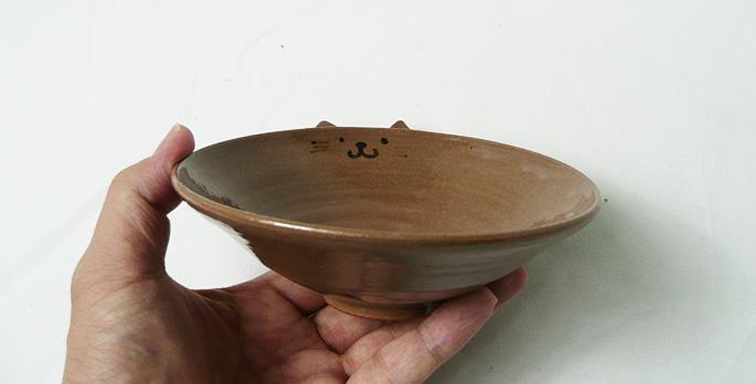 取り皿/ペット用の餌の食器にも最適/陶芸作家物