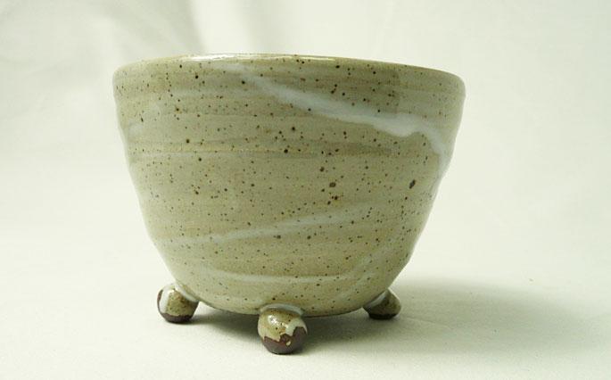 お惣菜、煮物、茶碗蒸し用の器/陶芸作家物 正面