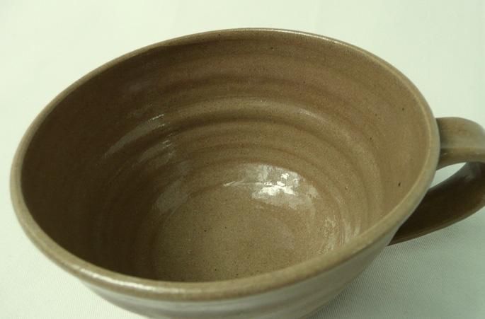 「mokamoka」マグカップの正面画像