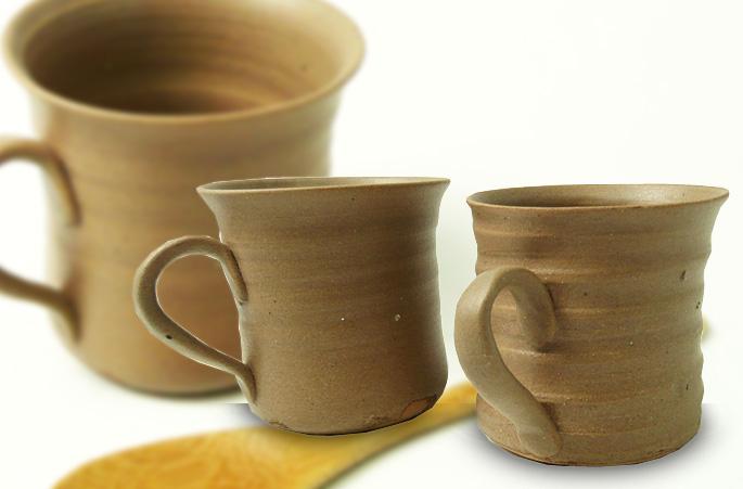 陶芸作家が作る、個性的なコーヒーカップの販売です。正面画像