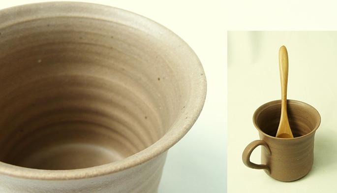 陶器のデミタスカップで、大人なコーヒータイムを楽しみましょう!