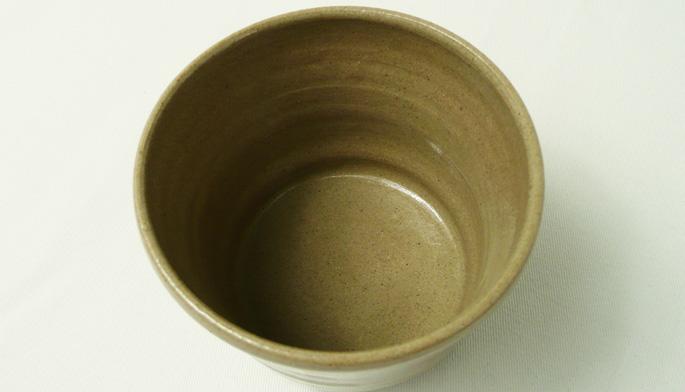 「粘土ちょこ/シンプル・茶」湯呑/蕎麦ちょこ/業務用飲食店の食器通販